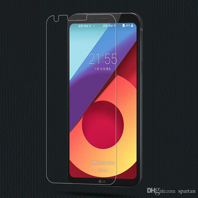 For LG Q7+ Aristo 2 Zte Blade Force Avid 4 Alcatel 7 Tempered Glass 9H Clear Screen Protector With Paper Package