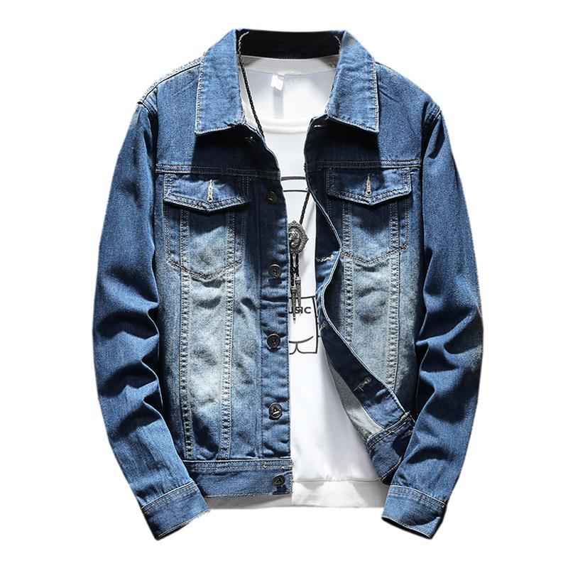 e05867e6c6f Men Jacket Spring Bomber Jeans Jackets Jaqueta Masculina Plus Size 5XL Coat Mens  Denim Jacket For Male Shop Coats Outerwear Jackets From Sogga