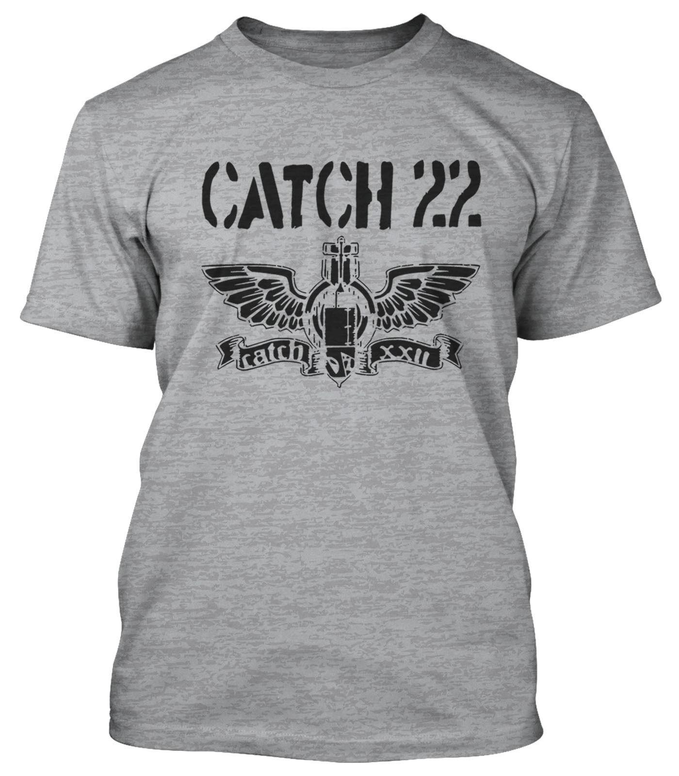 Compre CATCH 22 CAMISETA SKA PUNK CATCH 22 2018 Nuevas Camisetas Divertidas  Hipster O Cuello Cool Tops Hip Hop Manga Corta A  11.01 Del Burberrytshirts  ... 3d4b5651340