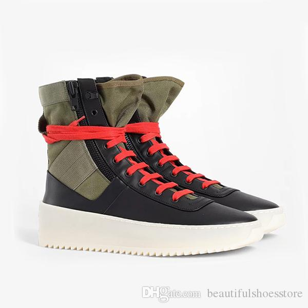 1d7adde758 Fashion Mens Jungle Shoes Casual Flat Platform Ankle Boots Man Rubber Thick  Midsole Military Botas Hombre Zipped Lace Up High Top Sneakers Boots For Men  ...