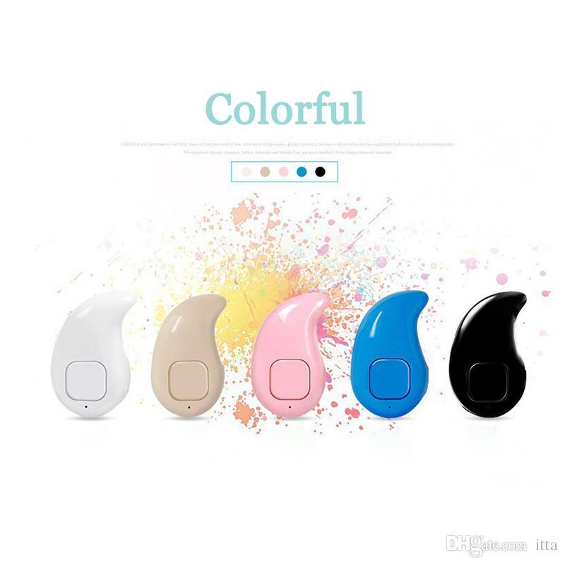 Mini S530 Auriculares Inalámbricos Bluetooth Auriculares Stealth Auriculares In-ear Con Micrófono para teléfono Universal con caja al por menor