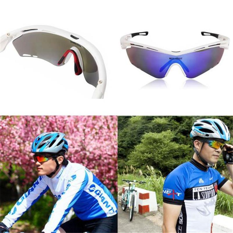 dbee87e7b508e Compre Novos Homens Mulheres Ciclismo Uv 400 Óculos De Sol Óculos De  Desporto Ao Ar Livre Equitação Bicicleta Goggles Caixa De Presente Original  Pacote ...