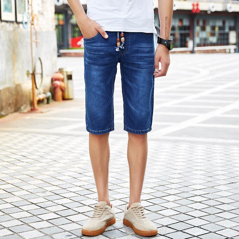 Marca Vaqueros Cortos Pantalones Ropa De Verano 2018 Masculinos Moda Hombres Los 3KTF5ucl1J