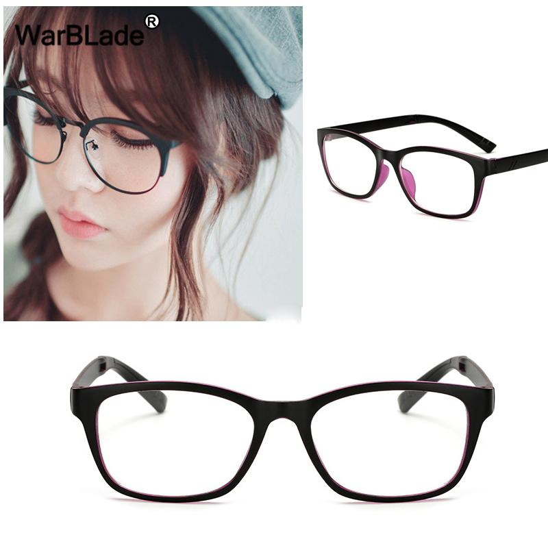 d8c2a94918 2019 WarBLade Retro Women Glasses Frame Men Eyeglasses Frame Vintage Round Clear  Lens Glasses Optical Spectacle Fashion Women Eyewear From Melontwo