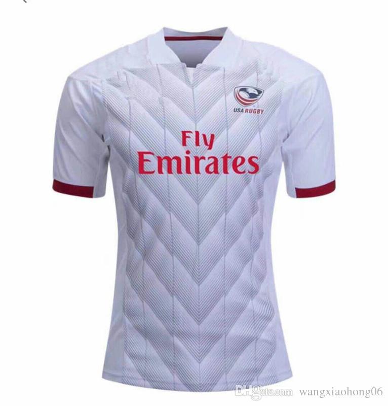 Compre 2018 2019 Más Reciente NRL Liga Nacional De Rugby EE.UU. Estados  Unidos Camisetas De Rugby Azul Marino 17 18 USA Rugby Mens Camisas Talla S  3XL A ... 41d6f56008d