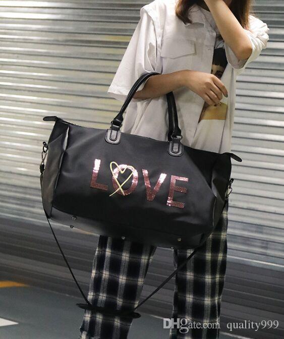 95260eb013 Newest Fashion Men Women Short-distance Sports Travel Bag Yoga Bags ...