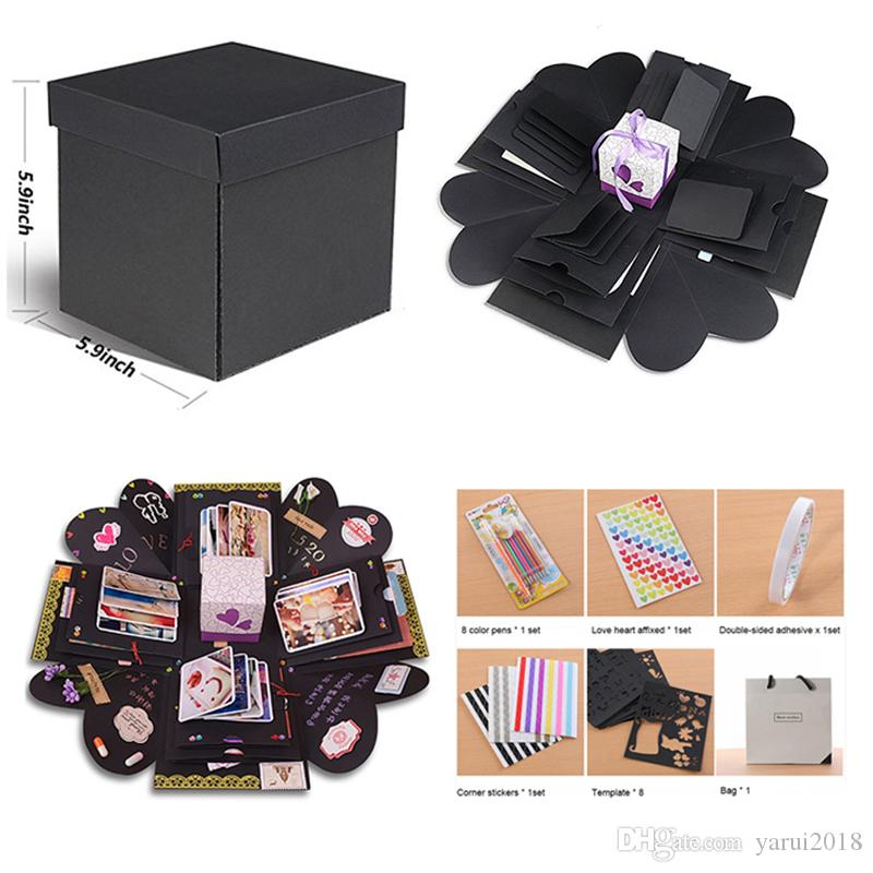 Wholesale Explosion Box Scrapbook Diy Photo Album 6 Kinds Of Diy