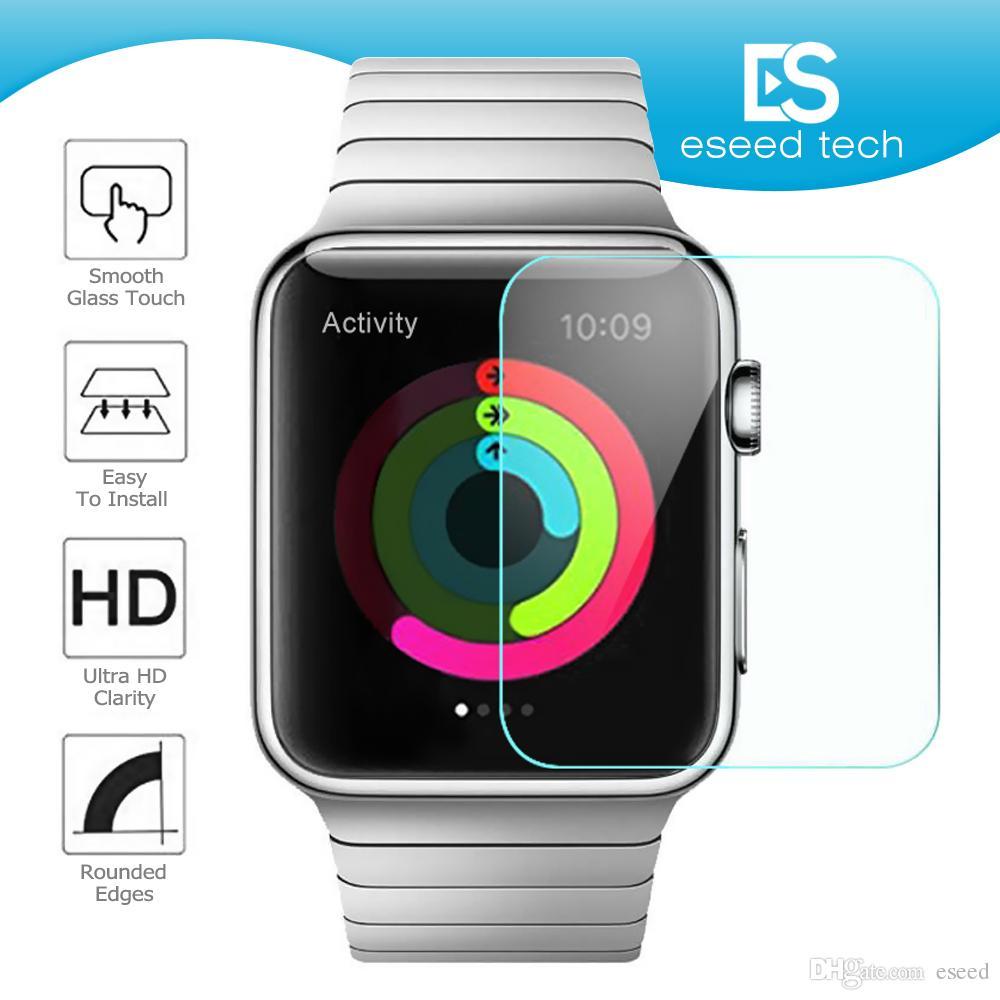 88447ef178a Compre Para NOVA Apple Watch Iwatch Série 4 Vidro Temperado 40 Milímetros  44 Milímetros Anti Bubble Protetor De Tela Película Flexível Para Iwatch 4  Series ...