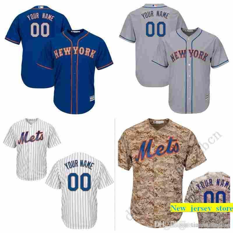 c694fcc8a 2019 Nw Yk Mets Custom Mens Baseball Jersey Personalized Any Name And Number  Stitched Embroidery Logos Size S 3XL From New_jersey_store, $16.35    DHgate.Com