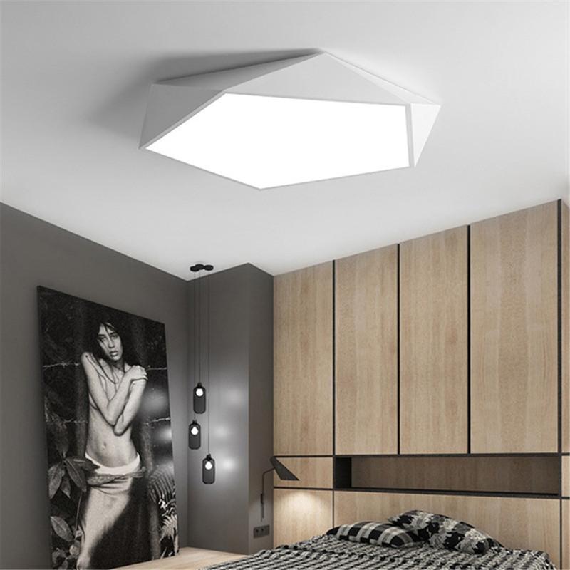 Moderne deckenleuchten led geometrische deckenleuchte kunst beleuchtung für  wohnzimmer küche flur balkon leuchten leuchte lampe