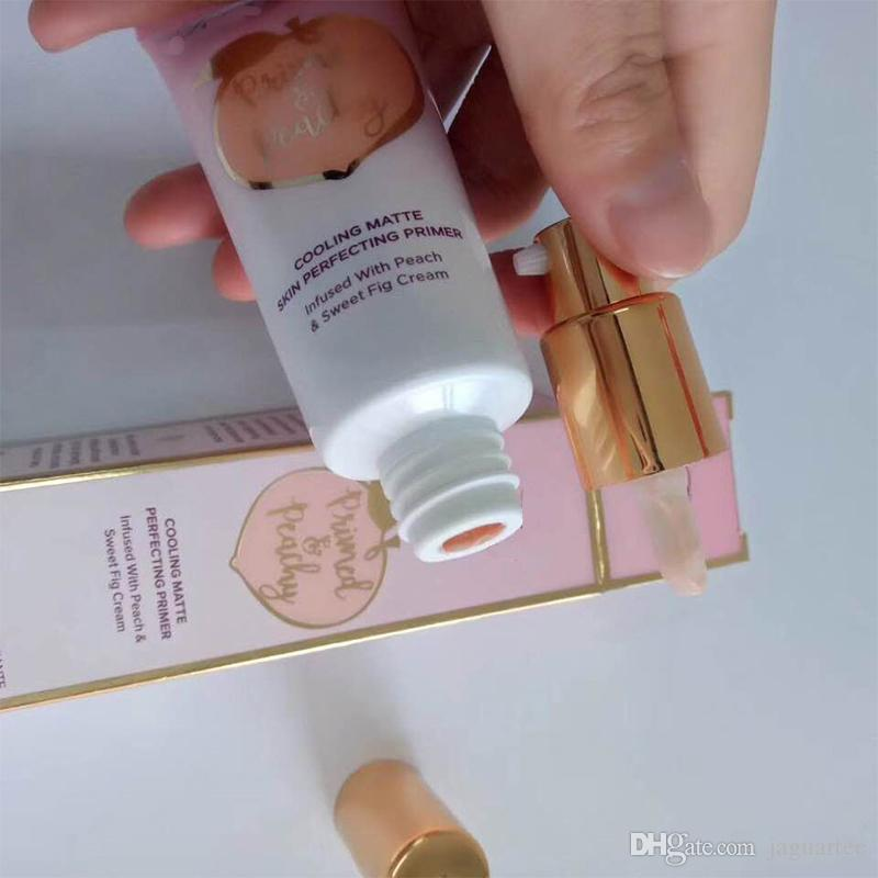 Primed Peachy Cooling Matte Skin Perfecting Primer Primed Infused with Peach & Sweet Fig Cream DHL