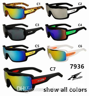 7 colors Sports Bright Reflective Sunglasses Fashion Sunglasses Reflective Riding Sunglasses men Bicycle Glass A+++ UNY13