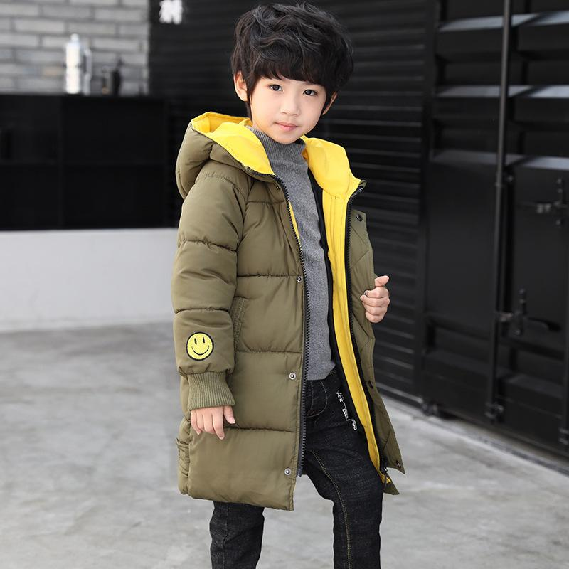 c20086af5e2 New Boys Coats Winter Warm Hooded Jackets Boys Winter Jacket Cotton Coat  Online with  25.13 Piece on Anglestore s Store