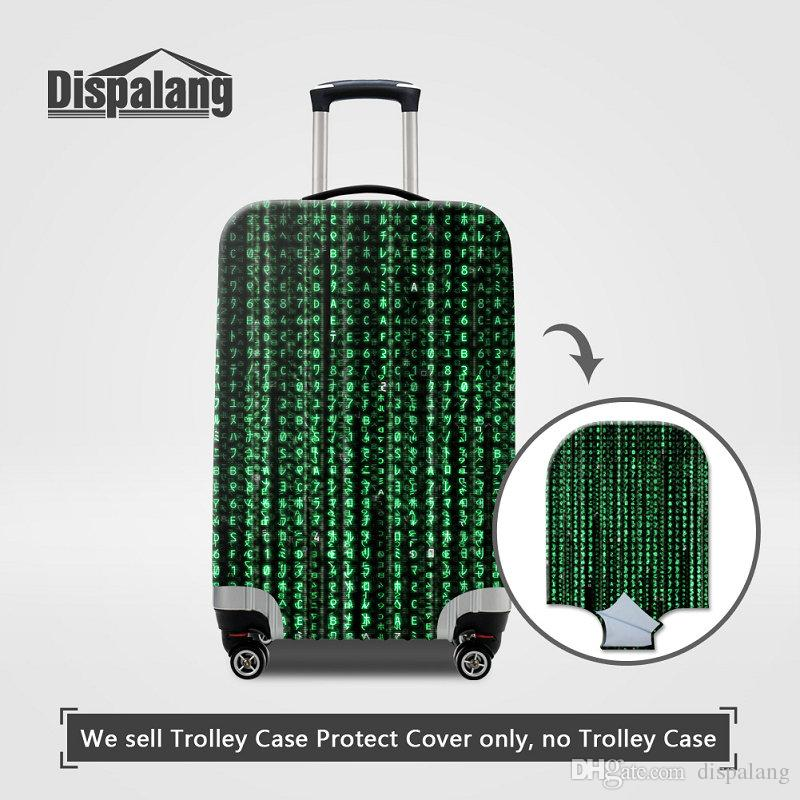 Case For Suitcase Women Men Travel Luggage Protective Cover Apply To 18~30 Inch Trunk Case Spandex Elastic Rain Protector Covers For Student