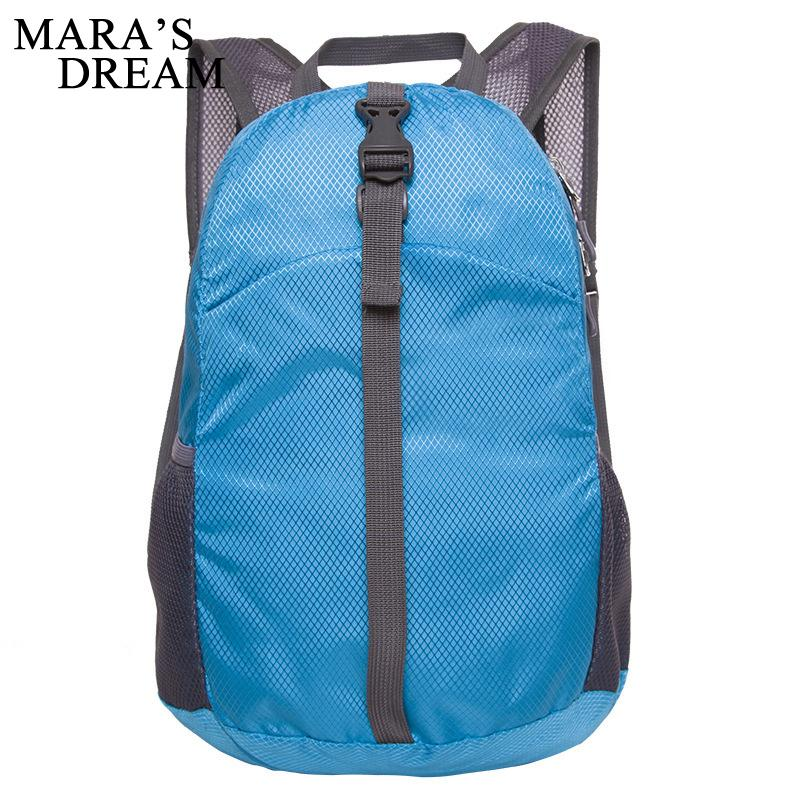 a4161e97a593 Mara S Dream Foldable Lightweight Waterproof Travel Men Women Backpack  Unisex Zipper Carteira Pack Bag Folding Bag Nylon Bags Book Bags Herschel  Backpacks ...