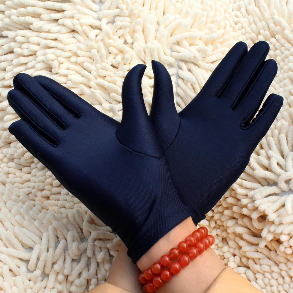 Gloves Working Protective 2pcs=1Pair Work Gloves Jewelry Spandex Female/Male Black White Short Safety Glove