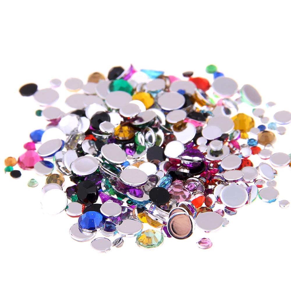 Normal Colors Mixed Colors Various Sizes Acrylic Rhinestones Shoes ... 5785ce540986