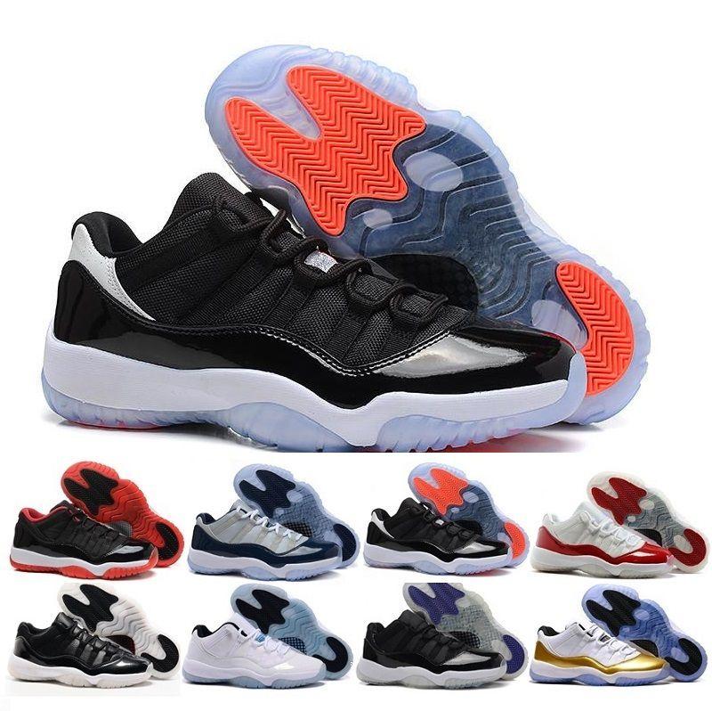 brand new e5efb 7c826 Acheter 2017 Nike Air Retro Shoes Hommes Chauds Chaussures De Basket Ball  Jordan 11 Xi Citrus. nike air max 90 pour enfant