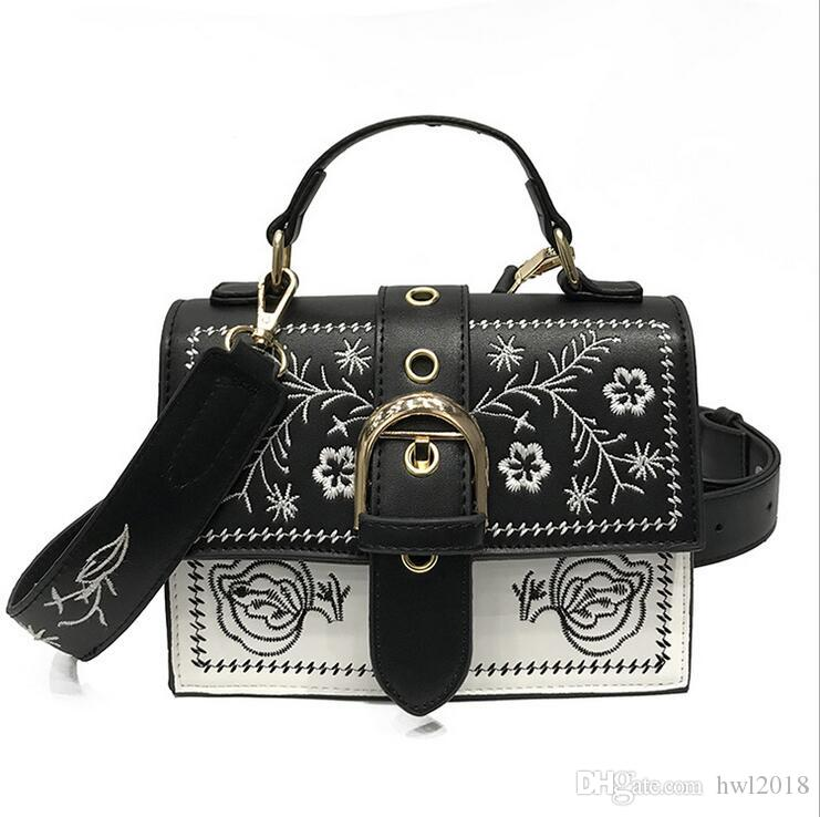e17c3a538350 Fashion Small Square Bag Female Handbag Square Korean Version of the ...