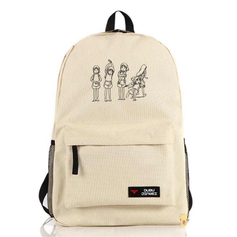 2c9db1ea2861 New Spirited Away Backpack Knapsack Shoulder Bag For Teenage Girls Boys School  Bags Travel Backpack Cute Backpacks From Keyhess