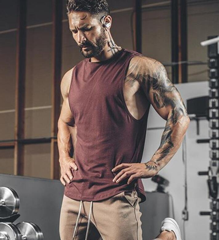 9a54d9beb1e90e 2019 Golds Gyms Clothing Brand Singlet Canotte Bodybuilding Stringer Tank  Top Men Fitness T Shirt Muscle Guys Sleeveless Vest Tanktop From  Youfanweistore