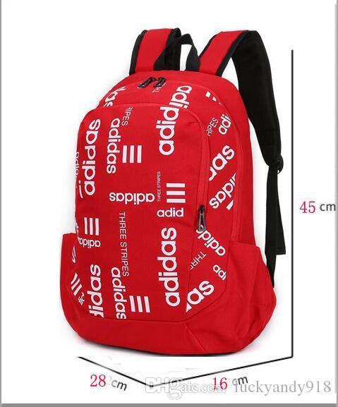 02ef1a0c49cd9 Großhandel NEUE Qualität Sport ADIDAS Rucksack Camping Unisex Rucksäcke  Reise Outdoor Rucksack Teenager Schul Basketball Tasche   35 Von  Luckyandy918