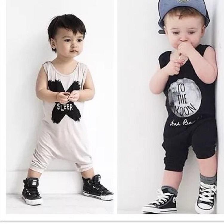 Kinder-Sommer-neugeborene Baby-Junge-Kleidung Babyworks Eines bessert Baby Body für Junge Mädchen-Kleidung Ärmel Jumpsuits Kleidung