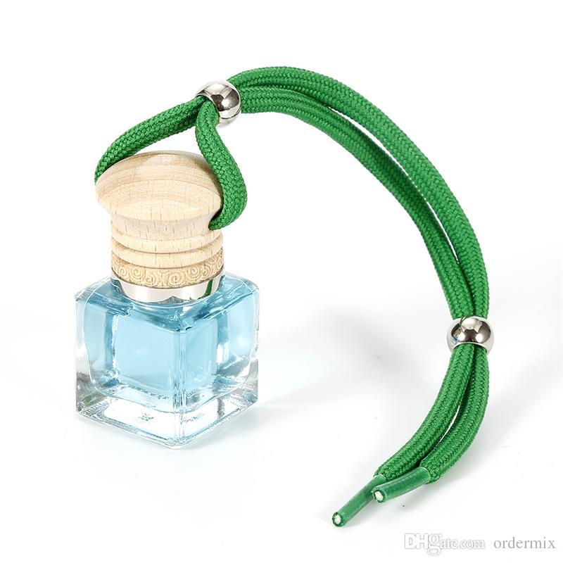 6 ملليلتر لطيف معطرات الجو كريستال العطر الضروري النفط الناشر سيارة شنقا زجاجة عطر النفط الإبداعي للسيارات سيارة التصميم