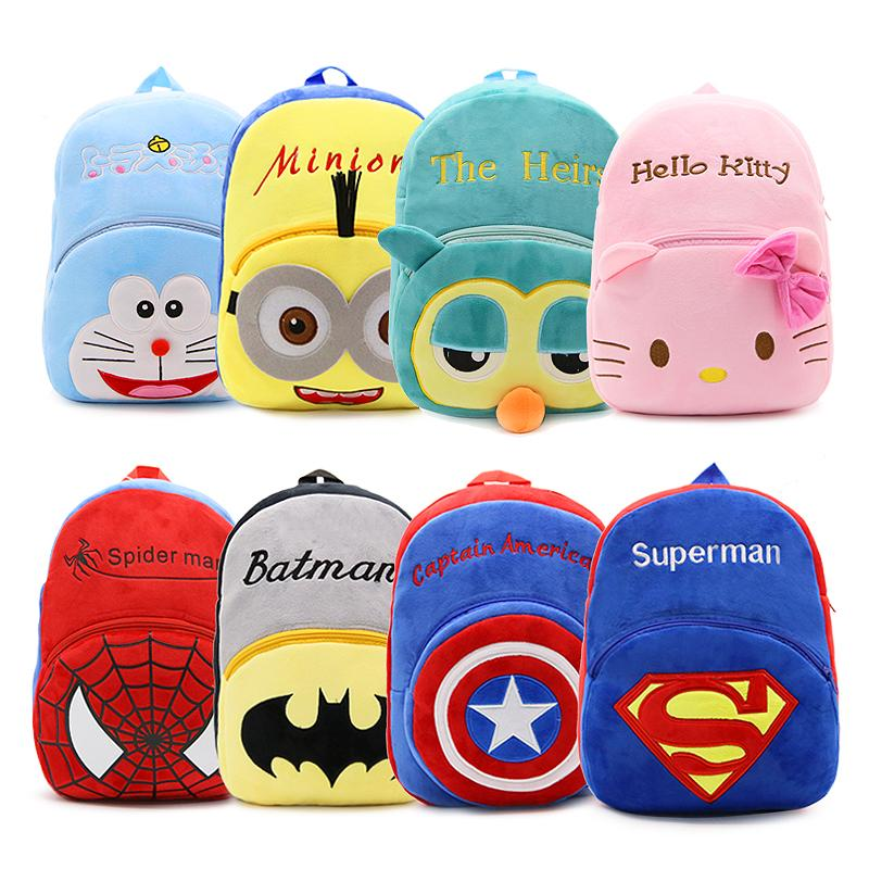 7bca5547f4 Cute Cartoon Baby Kids Plush Backpack Bigger School Bag Children S Gift  Kindergarten Boy Girl Student Bags Lovely Infant Mochila Boys Backpacks On  Sale ...
