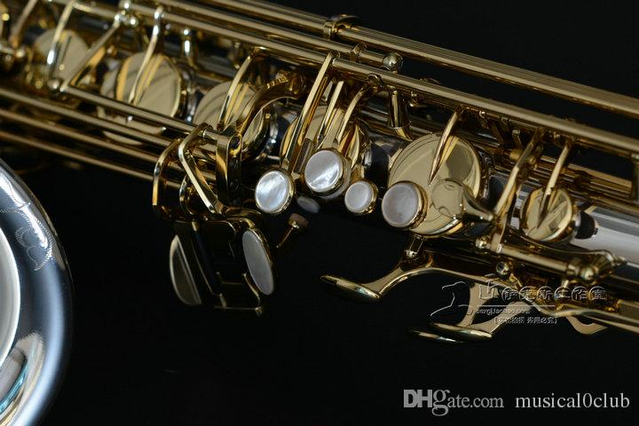 New YANAGISAWA sax tenore T-9937 Silvering Gold Key Sax Bocchino professionale Patches pastiglie Ance Bend Neck
