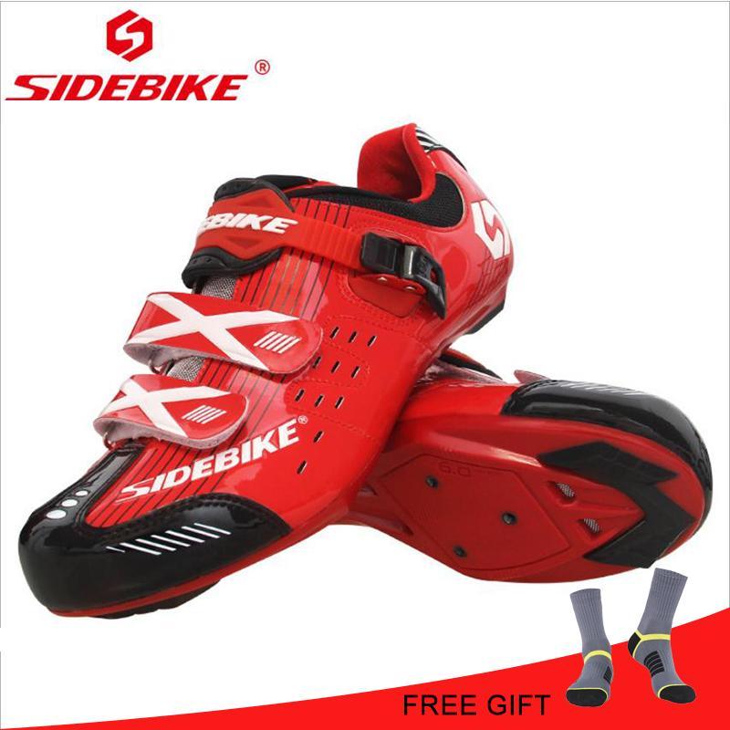 Sidebike Radfahren Da Sportschuhe Rutsch Rot Fahrrad Racing Ginnastica Sapatilhas Ciclismo Sneaker Road Schuhe Anti Scarpa I2WYEHD9