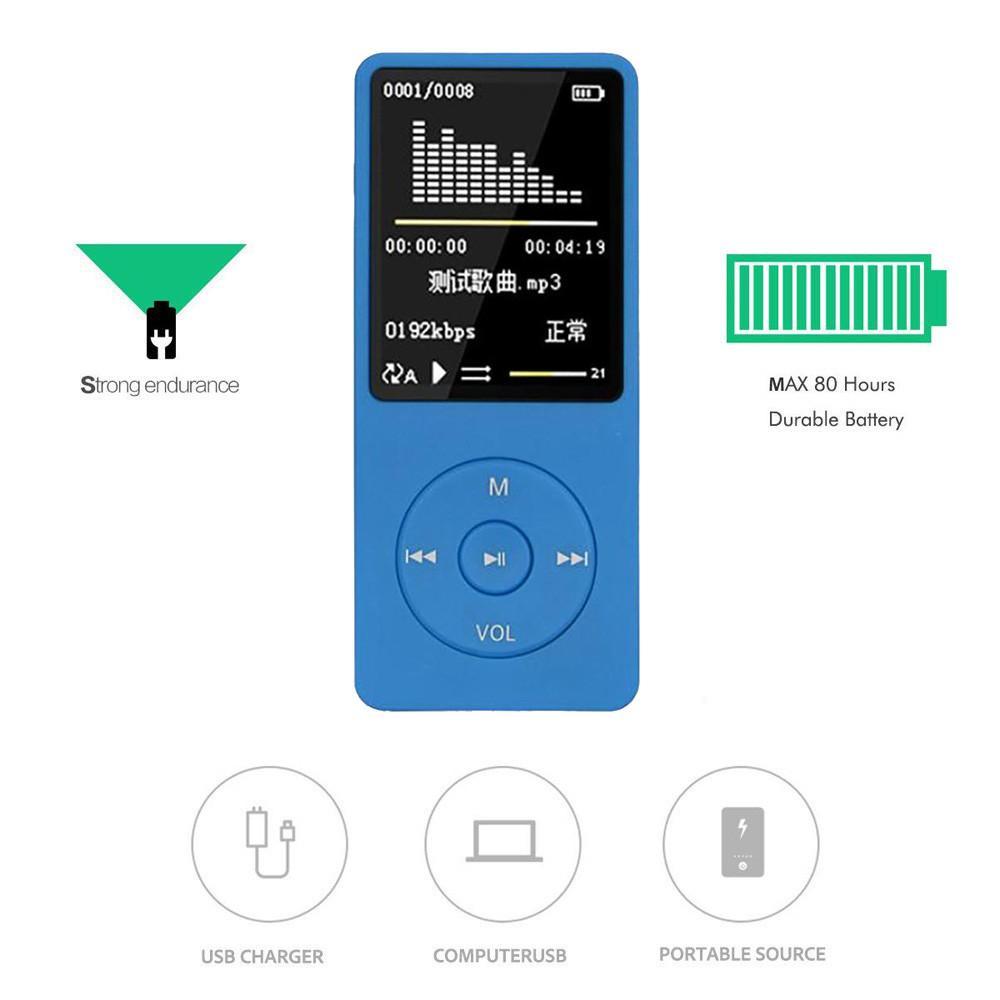 Acquista Smart Device Consumer NEW Fashion Portable Lettore MP3 MP4 Schermo  LCD Radio FM Videogiochi Film Aug.18th A  39.93 Dal Chaodingluo  fff247639ef8