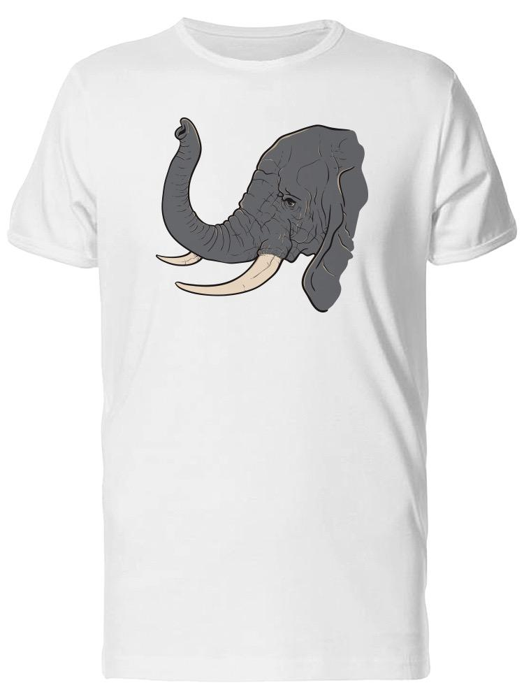 3269ba56e941c African Elephant Sideview Men S Tee Image By Shutterstock Funny Unisex  Casual Tshirt Gift A Shirt A Day T Shirt From Wildmarkstore