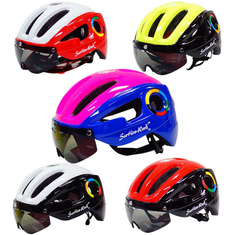 832620f7ce77 2019 Good Looking Ultralight Helmet Cycling Helmet Red Black Blue White  Pink Yellow For Women And Men Bicycle Equipment Nice Riding From Pretty05