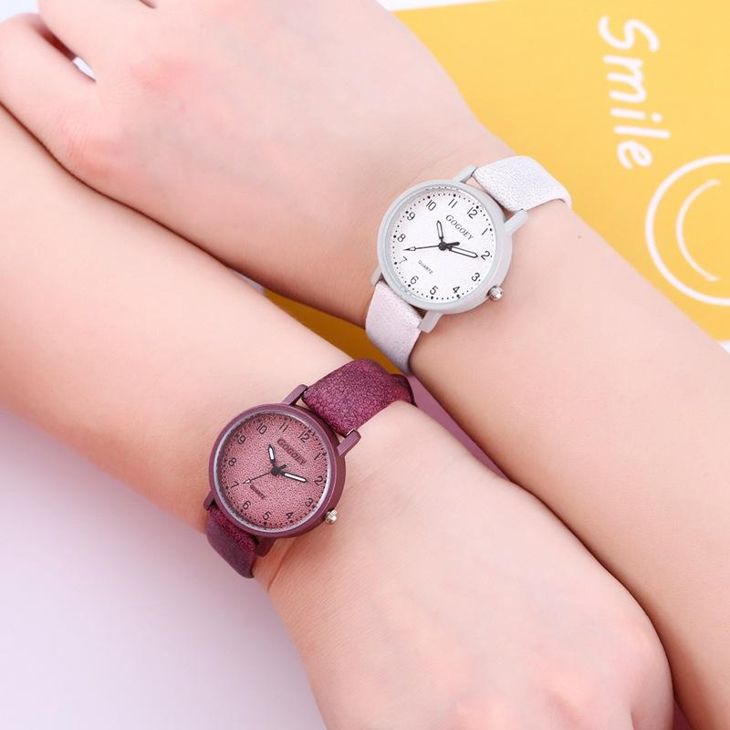 Woman Watch 2018 Top Brand Luxury Ladies Watches New Stylish Leather Watchband Quartz Wristwatches For Girls Hot Relogio