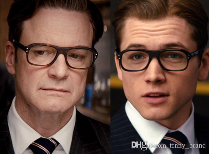 f5cbdc72a2 Wholesale Kingsman Glsseses Golden Circle Eggsy Harry Hart Cosplay Optical  Eyeglasses Frame Wome Men Brand Retro Frames With Original Box Custom  Sunglasses ...