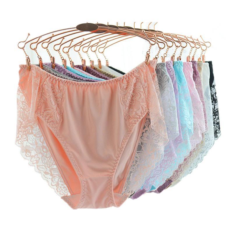 90ac21b62d52 2019 Alicia Ji XXXL Ropa Interior Femenina Sexy Hot Plus Size Women  Lingerie High Rise Underwear Women Panties Soft Solid Briefs From Zanzibar,  ...