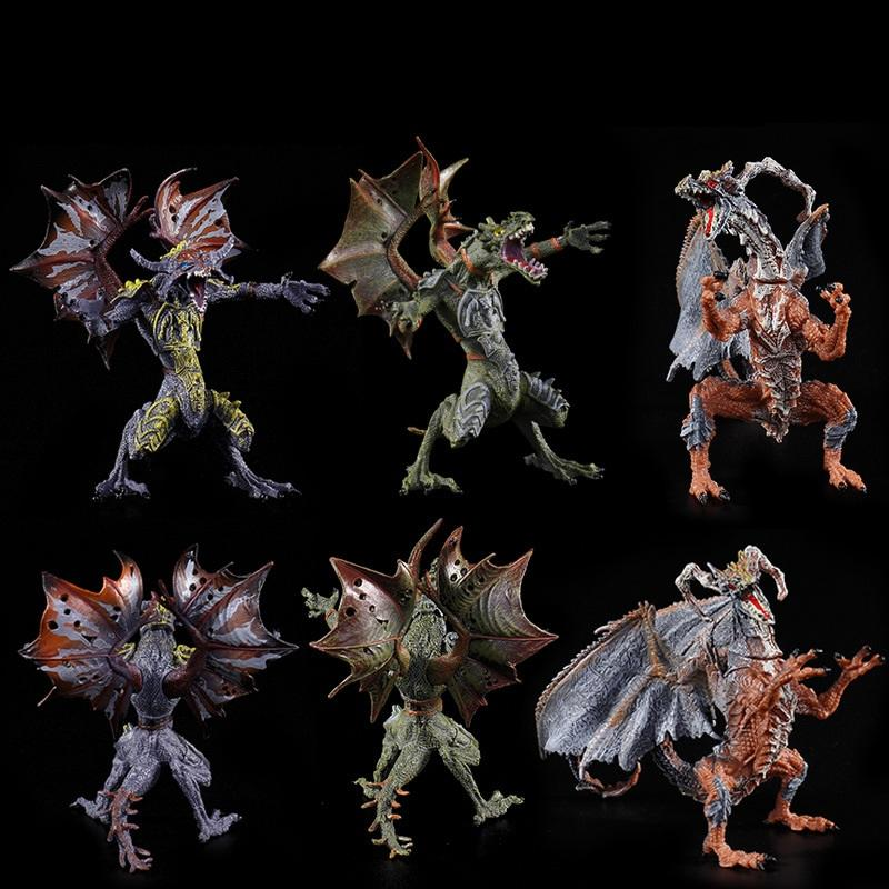 100pcs Jurassic World Toy 4D Assembled and Transformed Large-scale Wyvern Static Animal Model Dinosaur Model Toys