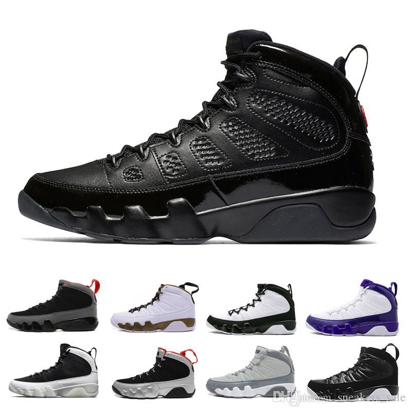 best deals on 29cc0 19f40 Acheter Date 9 9s Bred Lakers PE Cool Grey Hommes Chaussures De Basket Ball  Concepteur Anthracite Mop Melo Noir Blanc The Spirit 2010 RELEASE Baskets  De ...