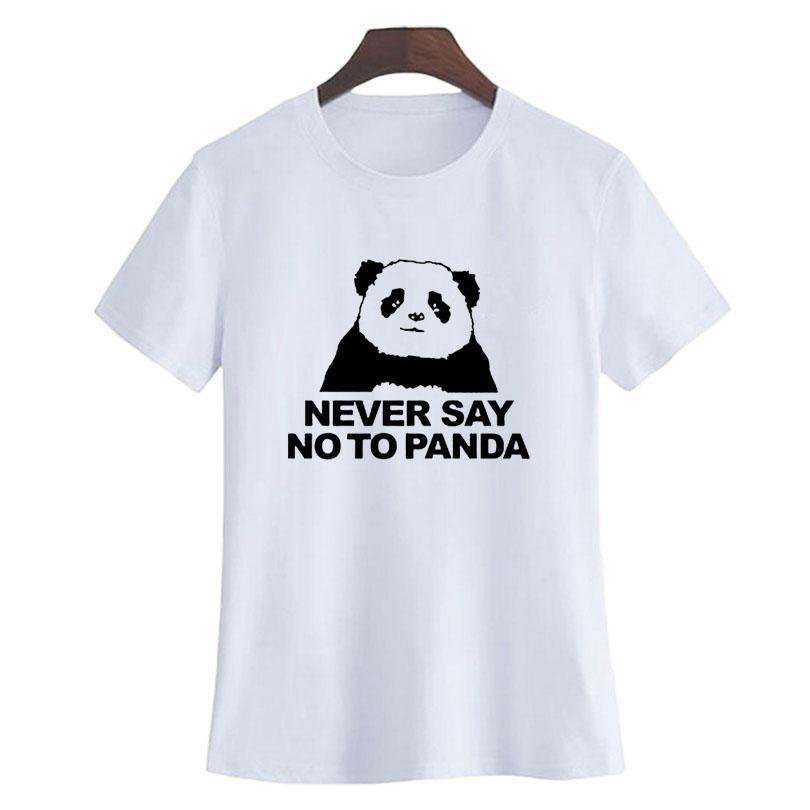 Never say no to panda shirt