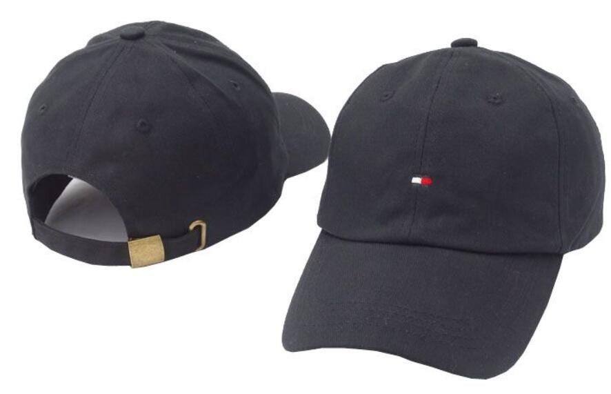 2018 New Hilfiger Cap Baseball Cap Embroidery Men Dad Hat Cotton ... ff8e3f7619e5