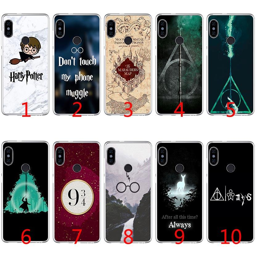 8ef8e437091 Harry Potter Soft Silicone TPU Case For Xiaomi Redmi Note 4X 5 Pro 6 Pro 5A  4A S2 5 Plus Cover Custom Phone Cases Phone Cases From Emmall, $1.58   DHgate.Com