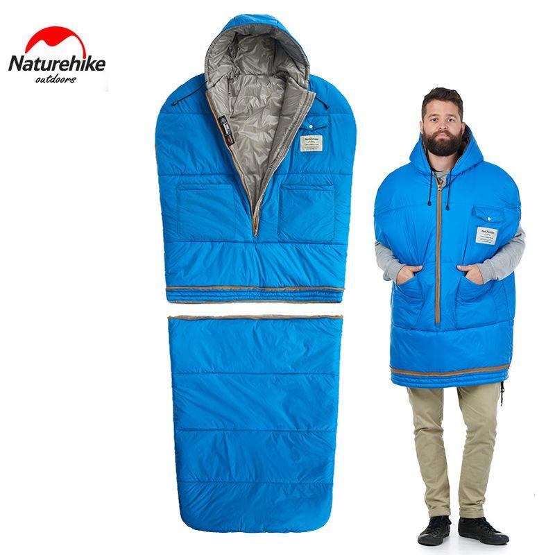 2018 Naturehike Camping Hiking Jacket Sleeping Bag Outdoor Indoors
