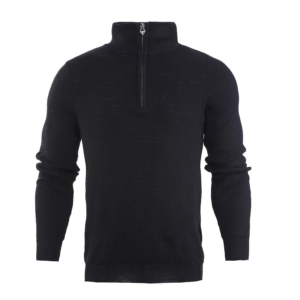 classic fit 7b563 73a77 Winter Gestrickte Warme Pullover Männer Rollkragen Marke Mens Pullover Slim  Fit Pullover Männer Strickwaren Reißverschlüsse M-2XL