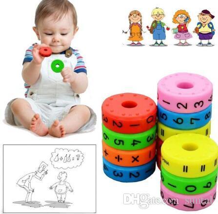 kIDS article sur l'étude des cylindres de mathématiques magnétiques apprentissage du jouet, intelligence, éclairer le cadeau des enfants