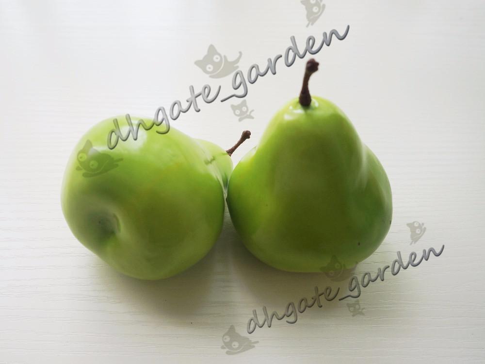 Birnen-große Birnen-künstliche Frucht der hohen Simulations-Birnenhaupthochzeits Dekoration / / geben Verschiffen frei