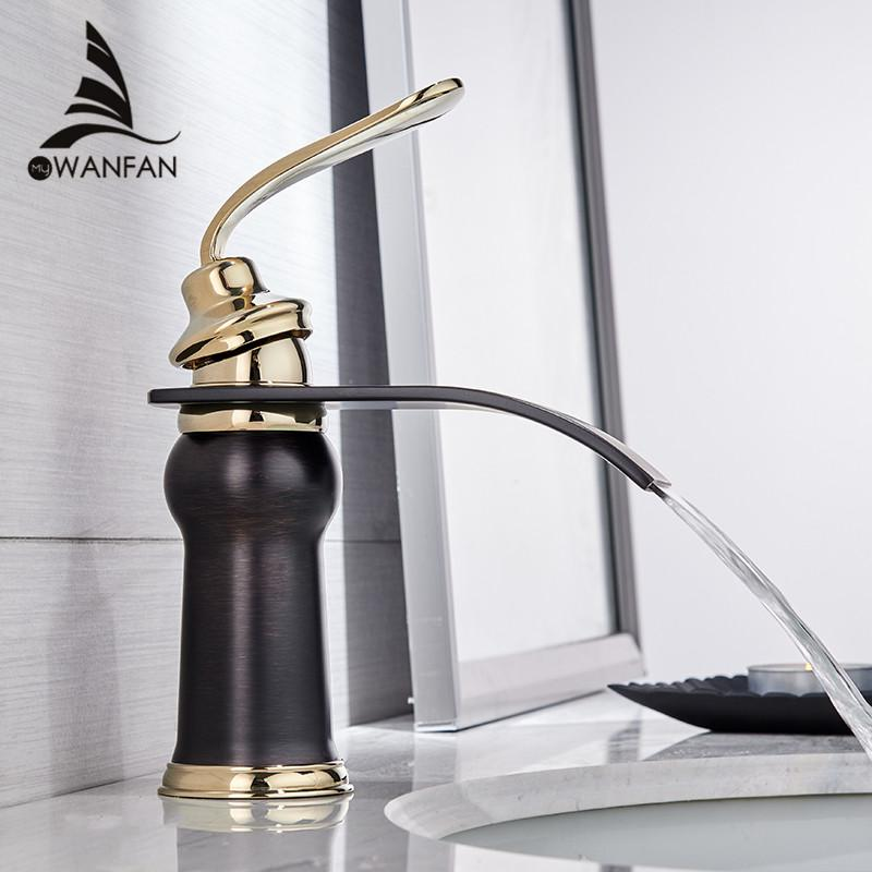2019 Basin Faucets Modern Style Bathroom Faucet Deck Mounted