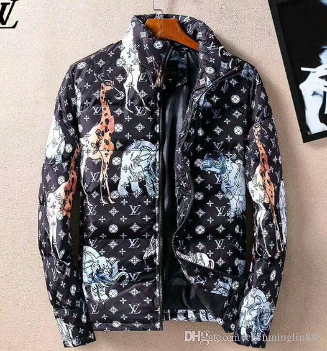 Winter Men's Duck Down Jackets Coats Real Rabbit Fur Men Women Lovers  Fashion Thick Warm Parka Classic Mens jaqueta masculina#007