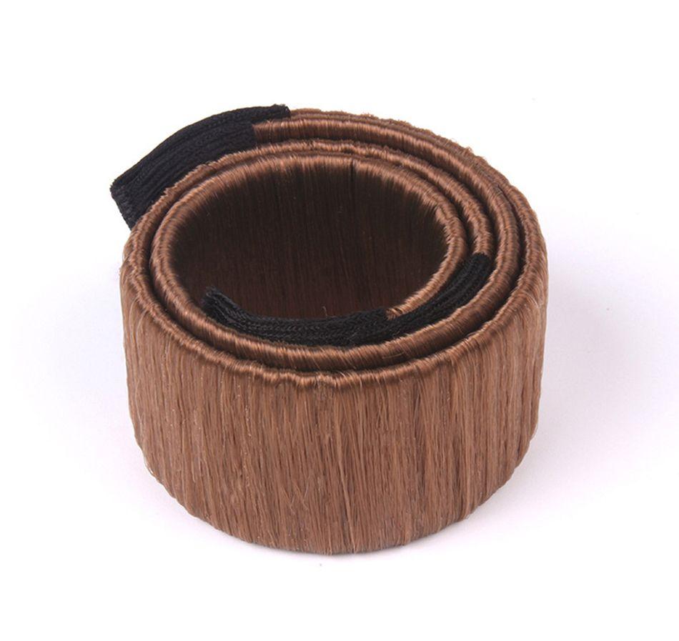 8 cores diy fácil bun fabricantes de cabelo tranças elásticas hairband rosquinhas chignon magique magia styling ferramentas de cabelo