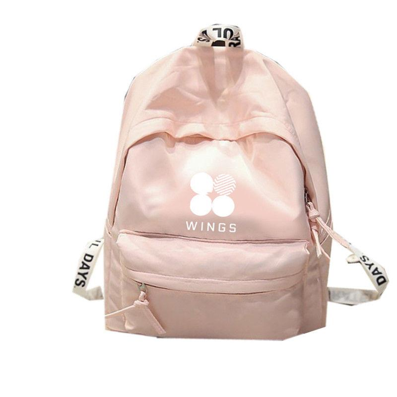 7d11294eb952d KPOP BTS Backpack Bangtan Boys Shoulder Bookbag Student Back To School Bag  7082917 School Backpacks Cool Backpacks From Faaa